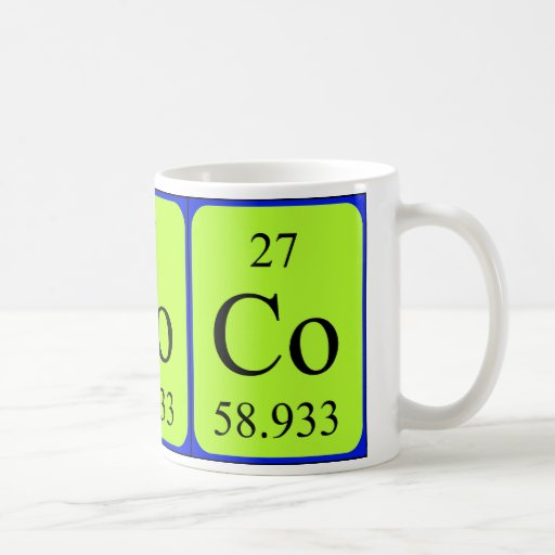 Element 27 mug - Cobalt