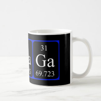 Element 31 mug - Gallium