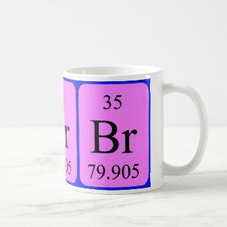 Element 35 mug - Bromine