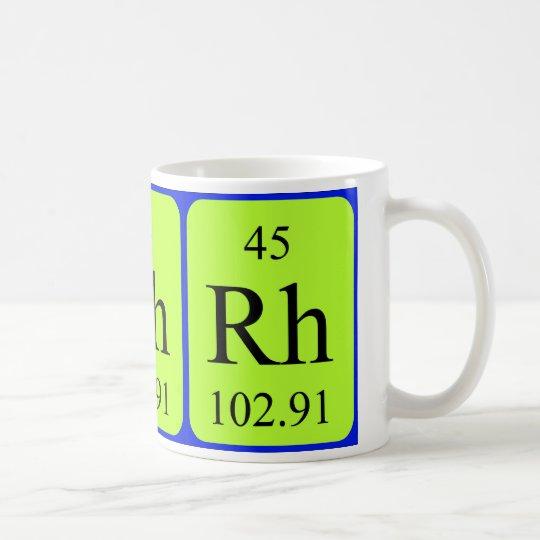Element 45 mug - Rhodium