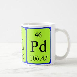 Element 46 mug - Palladium