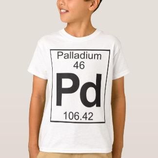 Element  46 - pd (palladium) T-Shirt