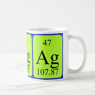 Element 47 mug - Silver