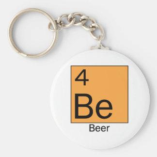 Element 4: Beer Basic Round Button Keychain