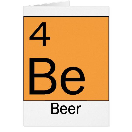 Element 4: Beer Card