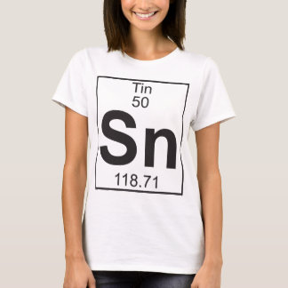 Element  50 - sn (tin) T-Shirt