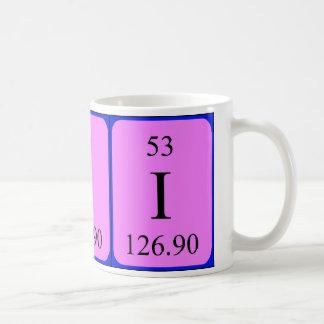 Element 53 mug - Iodine