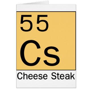 Element 55: Cheese Steak Card