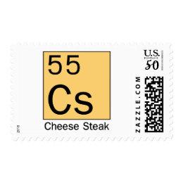Element 55: Cheese Steak Postage