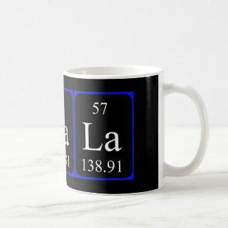 Element 57 mug - Lanthanum