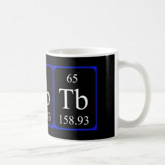 Element 65 mug - Terbium