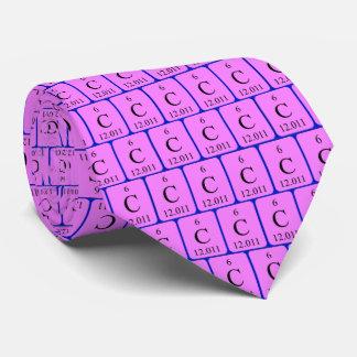 Element 6 tie - Carbon
