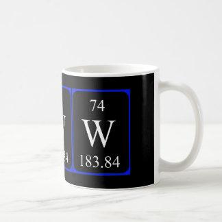 Element 74 mug - Tungsten