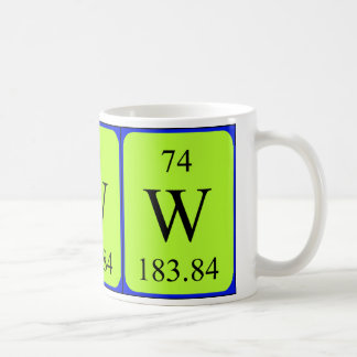 Element 74 mug - Tungsten