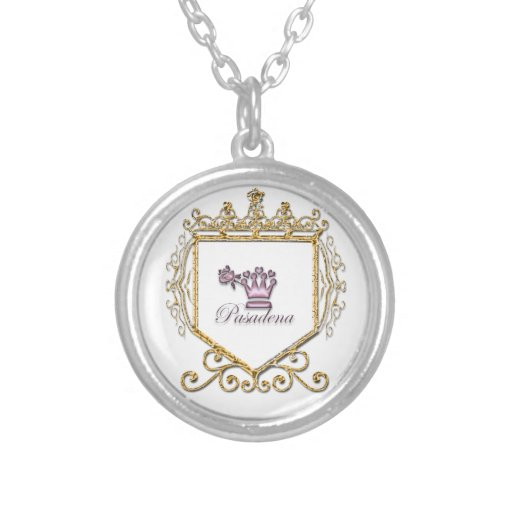 Element 79 round pendant necklace