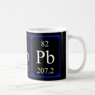 Element 82 mug - Lead