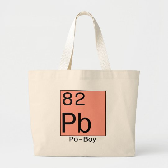 Element 82 Po-Boy Large Tote Bag