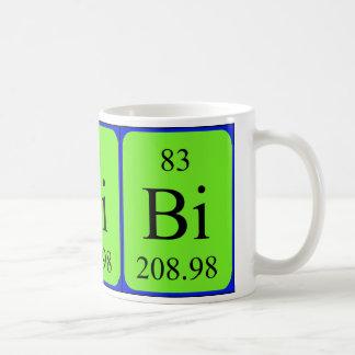 Element 83 mug - Bismuth Mugs
