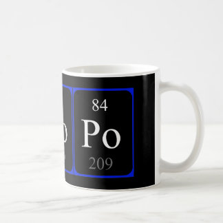Element 84 mug - Polonium