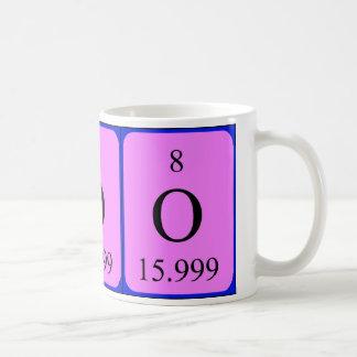 Element 8 mug - Oxygen
