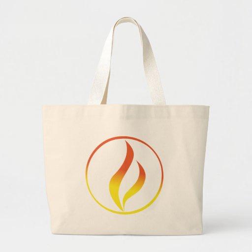 Element bag/Elementen-Tasche Jumbo Tote Bag