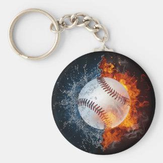 Element Baseball Keychain