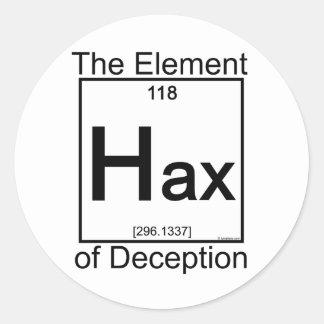 Element HAX Classic Round Sticker