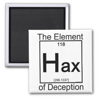 Element HAX 2 Inch Square Magnet