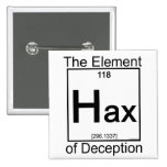 Element HAX Pinback Buttons