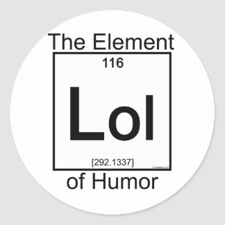 Element LOL Classic Round Sticker