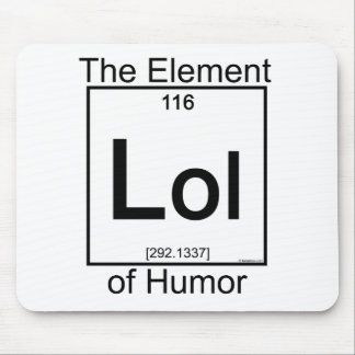 Element LOL Mouse Pad