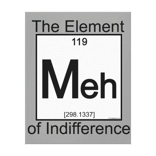 Element MEH Canvas Prints