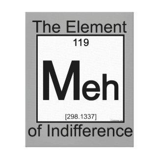 Element MEH Canvas Print