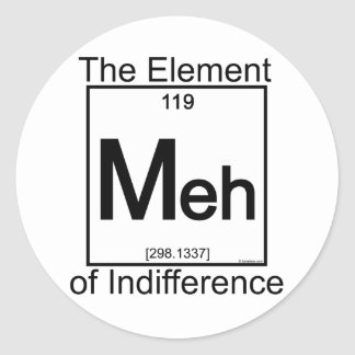 Element MEH Classic Round Sticker
