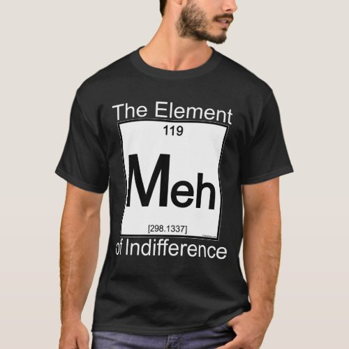 Element MEH Dark Shirts