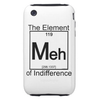 Element MEH iPhone 3 Tough Covers