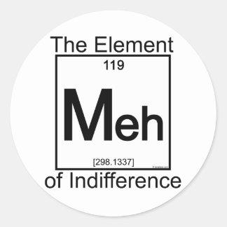 Element MEH Classic Round Sticker