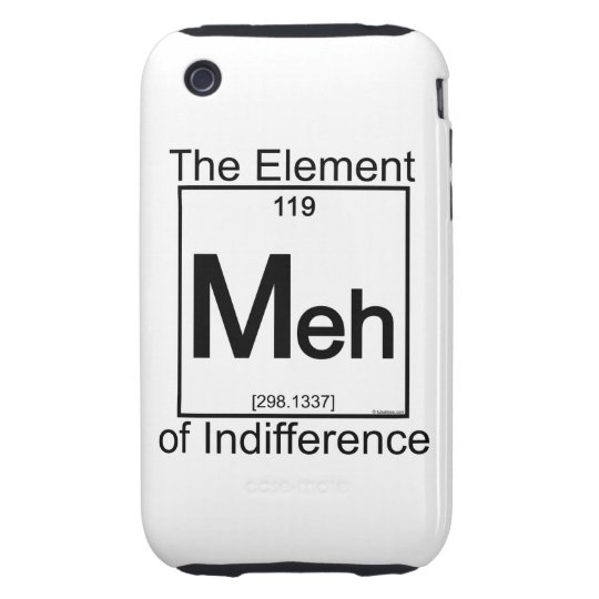 Element MEH Tough iPhone 3 Cover