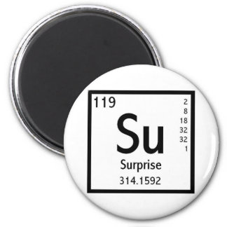 Element Of Surprise 2 Inch Round Magnet