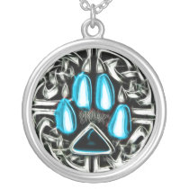 Element of Water Werewolf Protection Symbol Amulet