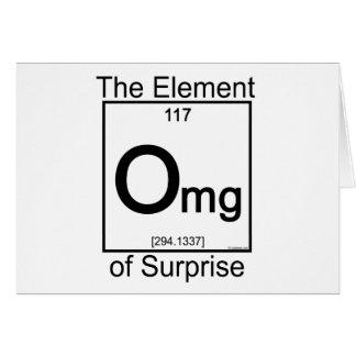 Element OMG Card