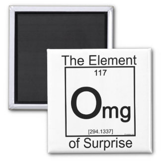 Element OMG 2 Inch Square Magnet