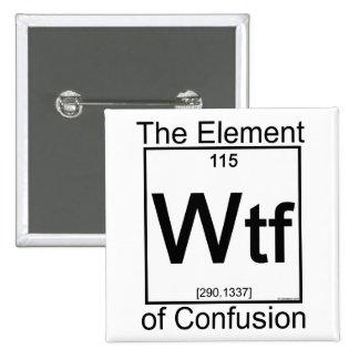 Element WTF Pinback Button
