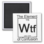 Element WTF Refrigerator Magnets