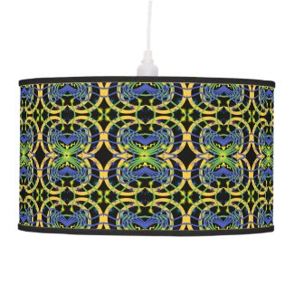 Elemental Abstract Pendant Lamp