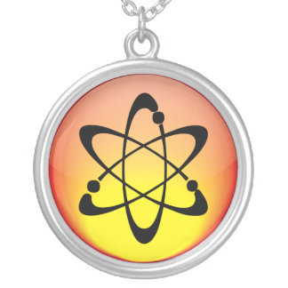 Elemental - Atom Round Pendant Necklace