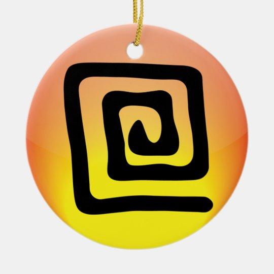 Elemental Ceramic Ornament