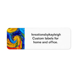 Elemental Dragon Label