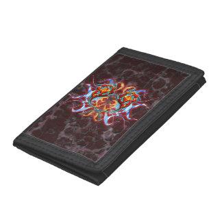 Elemental Dragon Trifold Wallet