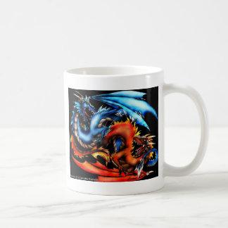 Elemental Dragons Classic White Coffee Mug